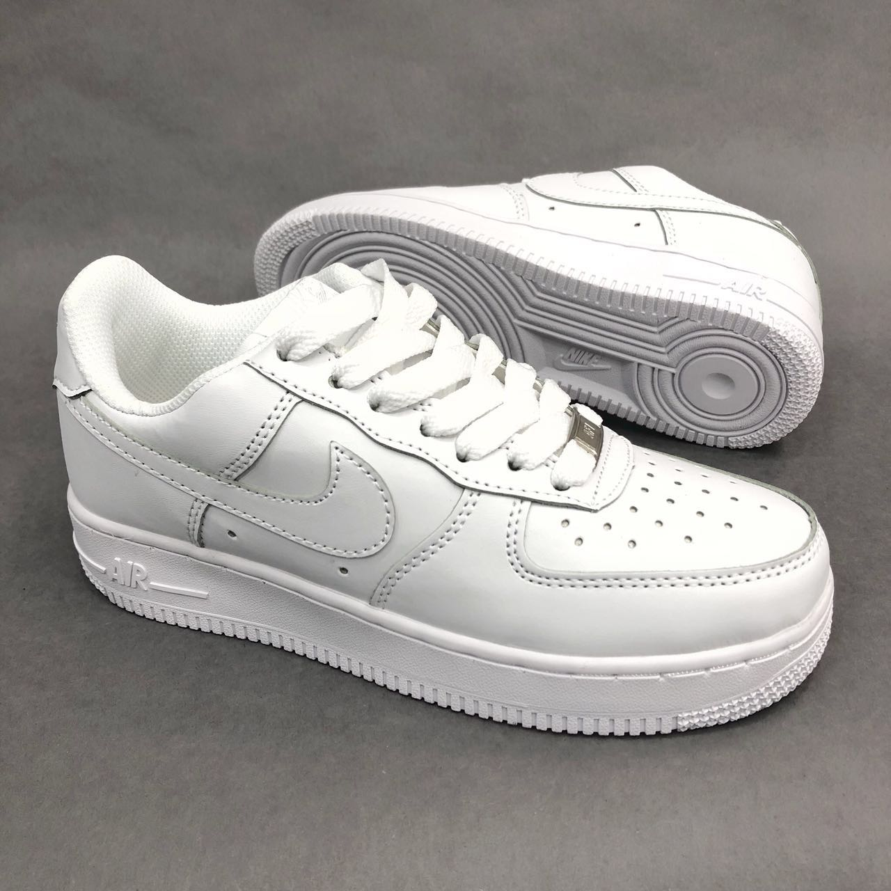 reputable site 2812c 9fb9e Tenis Nike Air Force one Mujer seventy block - ropa importada